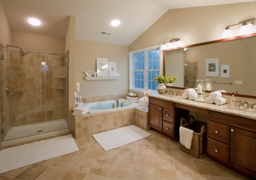 Is The Beige Bathroom Out Outer