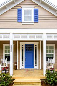 exterior beach style porch